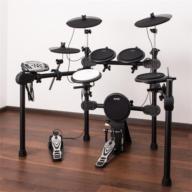 Justin JED650 E-Drum Bundle Ready to Rock komplett Set