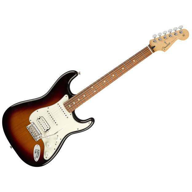 Fender Stratocaster Player HSS 3TS, 3-Color Sunburst