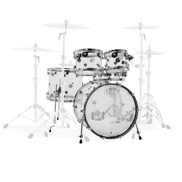 DW Drums Design Clear Acrylic DDAC2215CL