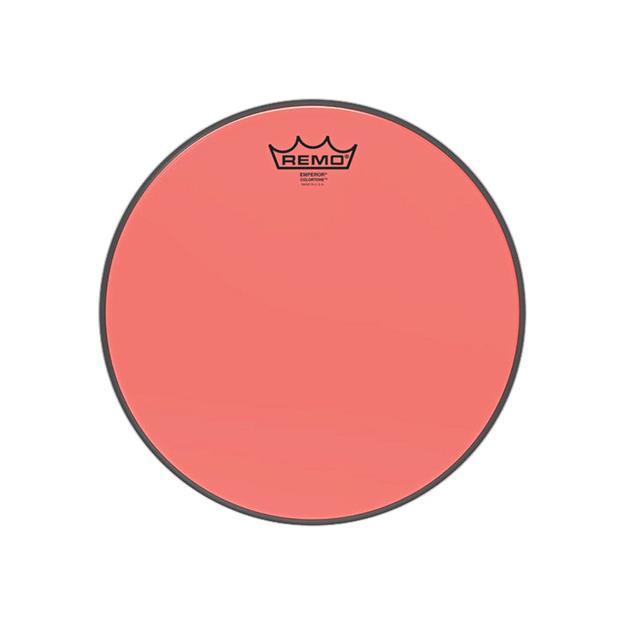 """Remo Emperor Colortone 12""""  - Red - Tomfell"""