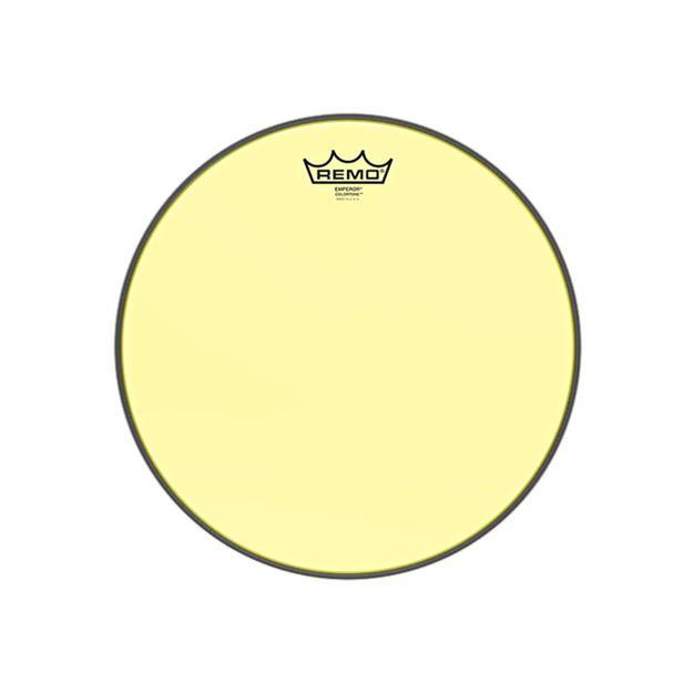 """Remo Emperor Colortone 13"""" - Yellow - Tomfell"""