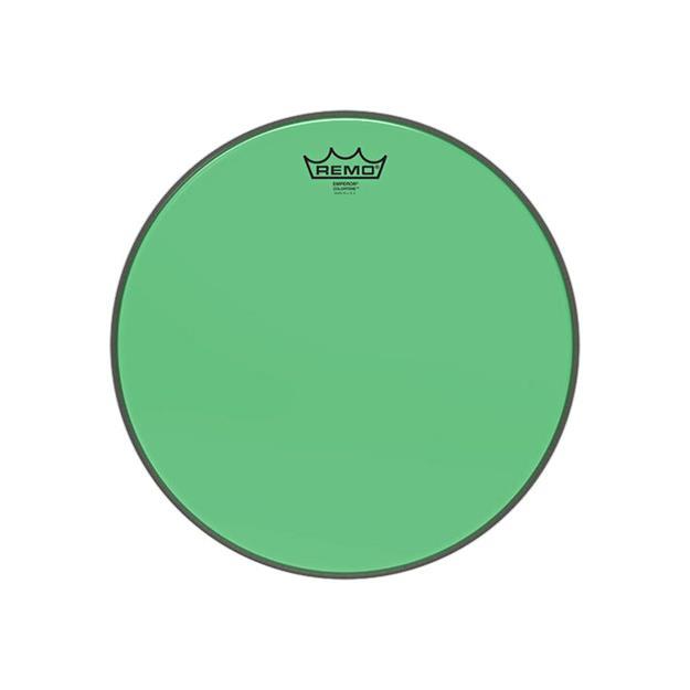 """Remo Emperor Colortone 14"""" - Green - Tomfell"""