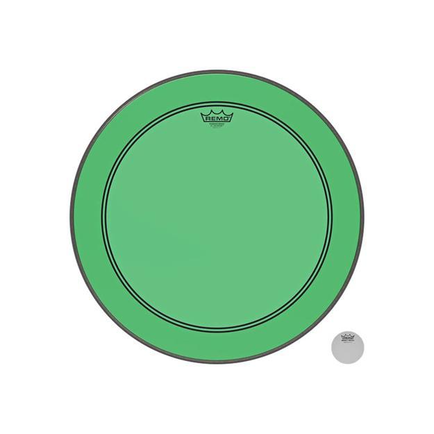 """Remo Powerstroke P3 Colortone 22"""" - Green"""
