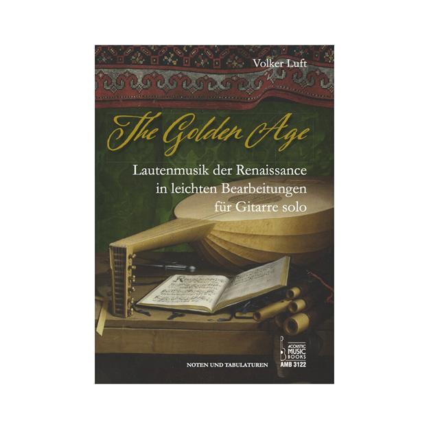 Acoustic Music Books The Golden Age für Gitarre Solo