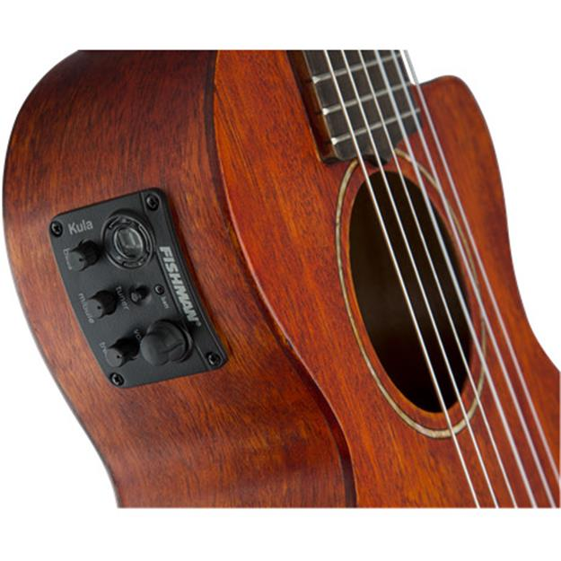 Gretsch Guitars G9126 ACE Guitar Ukulele, Open Pore Semi Gloss