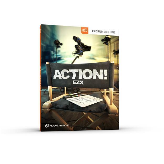 Toontrack EZX Action! Lizenzcode