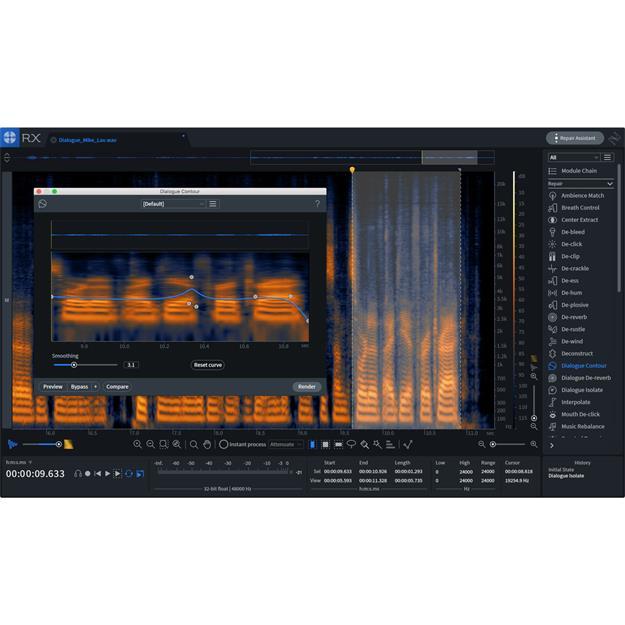 Izotope RX Post Production Suite 3 upgrade von Elements