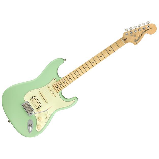 Fender Stratocaster American Performer HSS SSFG, Satin Surg Gr.