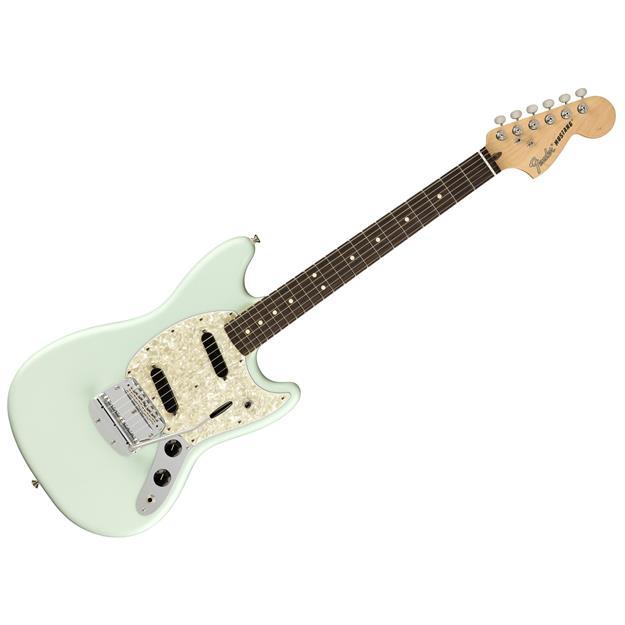 Fender American Performer Mustang, RW Satin Sonic Blue