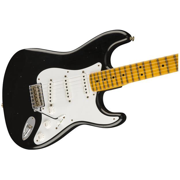 Fender CS Stratocaster Eric Clapton LTD., Black Journeman Relic