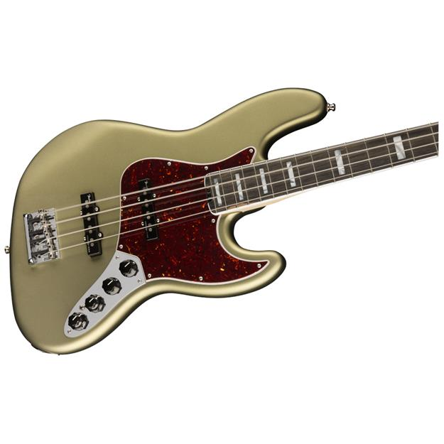 Fender Jazz Bass American Elite, Satin Jade Pearl Metallic