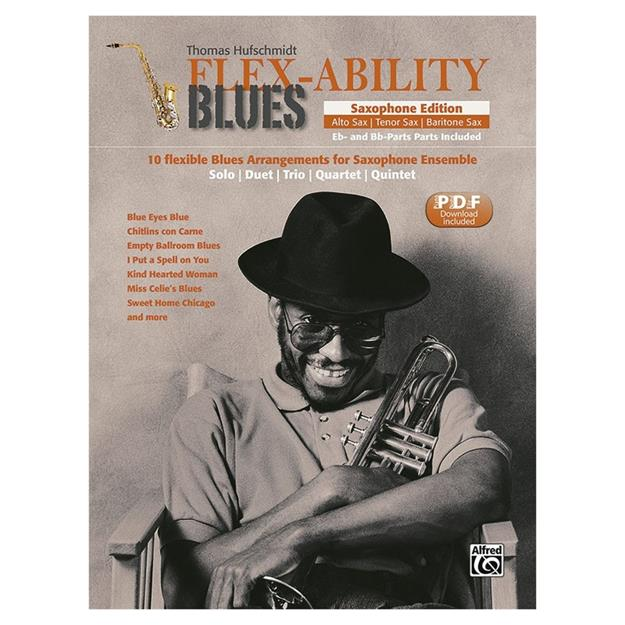 Alfred Publishing Flex - Ability Blues - Saxophon