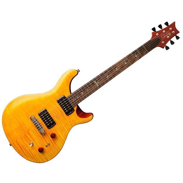 Paul Reed Smith  SE Paul's Guitar, Amber w/ Tobacco Back