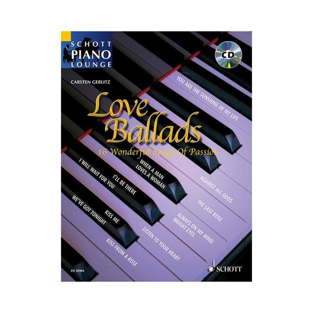 Schott Verlag Love Ballads