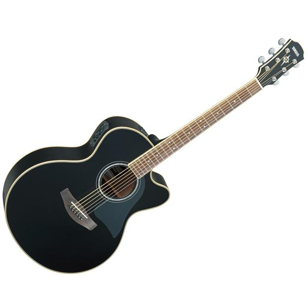 Yamaha CPX700II BL Black,Fichte/Nato