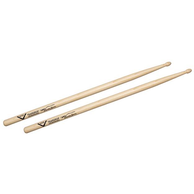 Vater Teardrop Cymbal Drumsticks- Sugar Maple