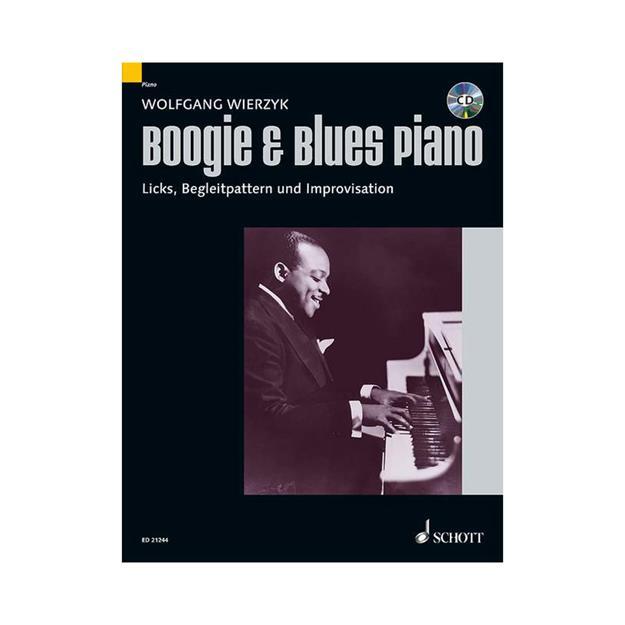 Schott Verlag Boogie & Blues Piano mit CD
