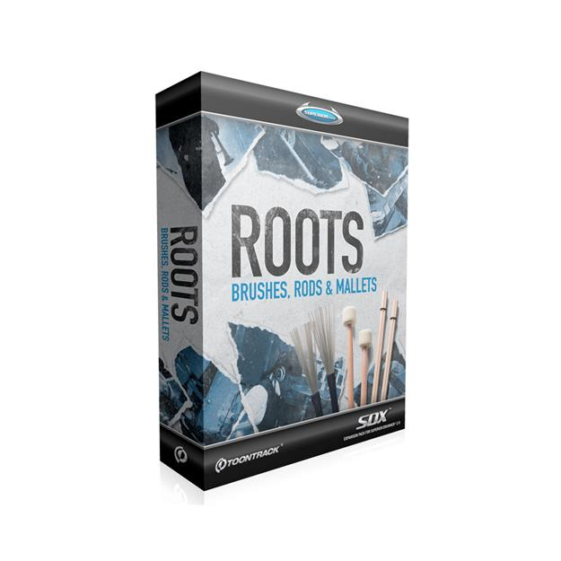 Toontrack SDX Roots Brushes, Rods & Mallets Lizenzcode