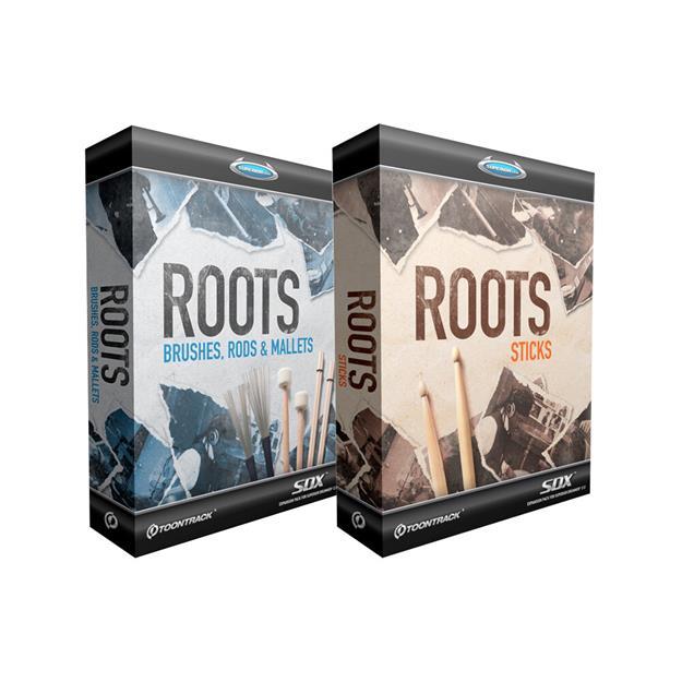 Toontrack SDX Roots Sticks/Brushes Bundle Lizenzcode
