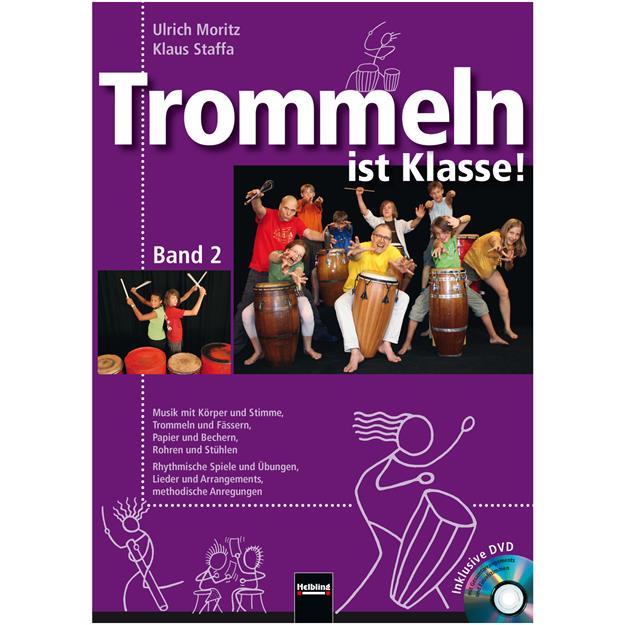 Helbling Trommeln ist Klasse! 2 mit DVD