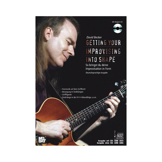 Acoustic Music Books Getting Your Improvisation Into Shape