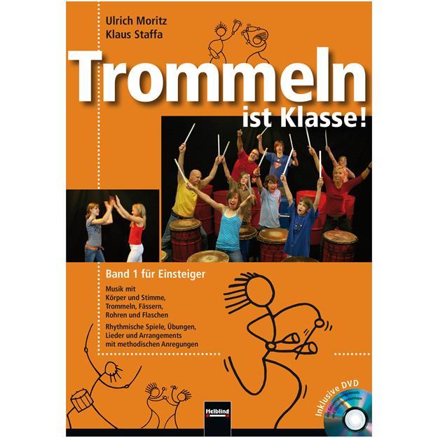 Helbling Trommeln ist Klasse! 1 mit DVD