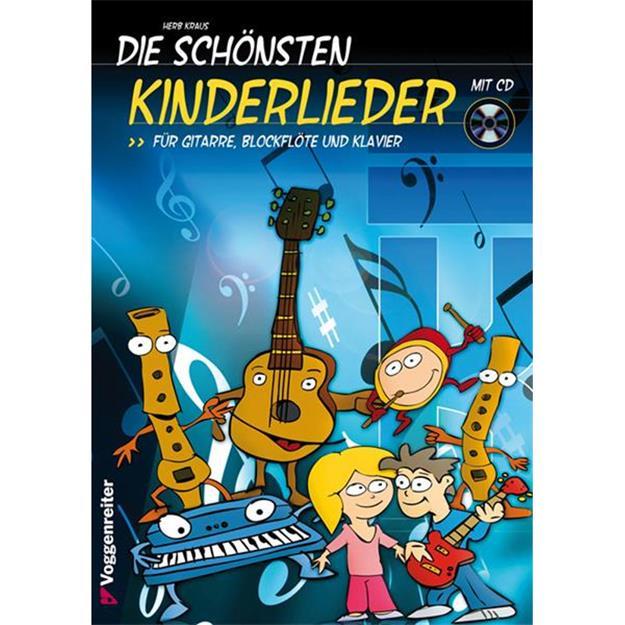 Voggenreiter Die schönsten Kinderlieder mit CD