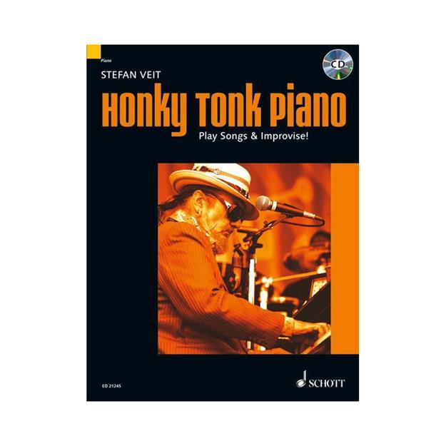 Schott Verlag Honky Tonk Piano mit CD