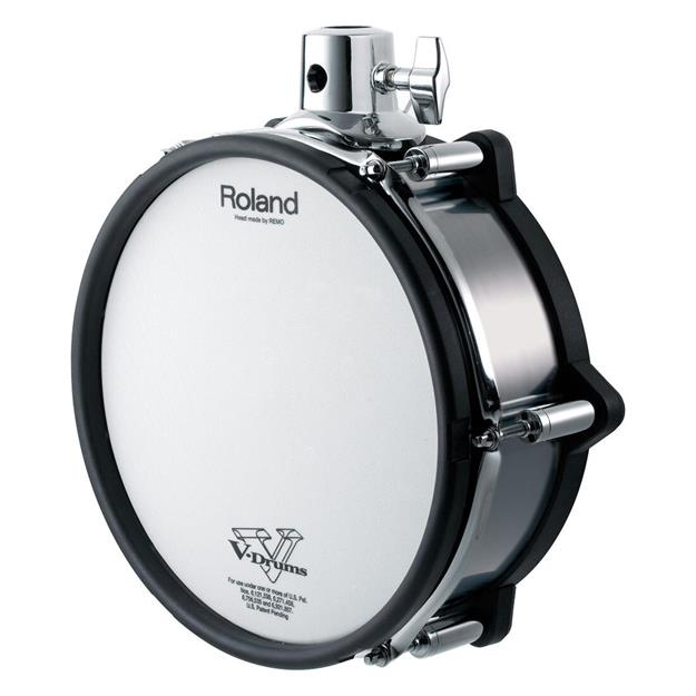 "Roland PD-108-BC V-Drum Pad 10"" Black Chrome"