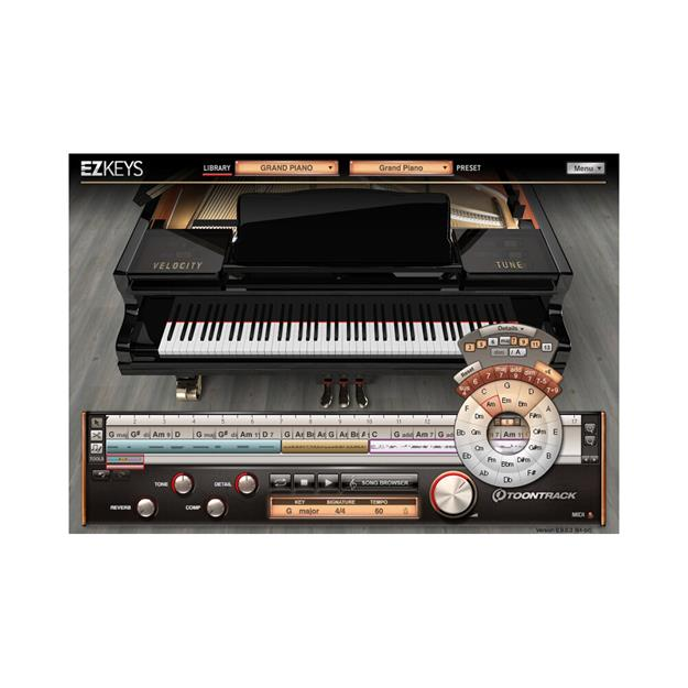 Toontrack EZkeys Grand Piano Lizenzcode