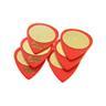 Ibanez Plec Grip Wizard Sandgrip rot, 0,80mm