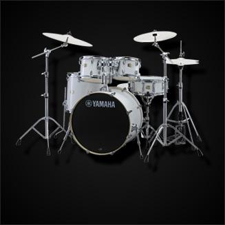 Schlagzeuge mit Hardware