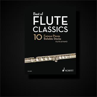 Klassische Noten für Querflöte