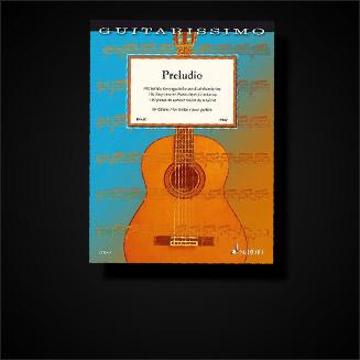 Klassische Noten für Gitarre