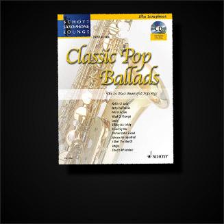 Popularmusik für Saxophon