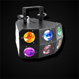 Derby- & Strahlen-Lichteffekte