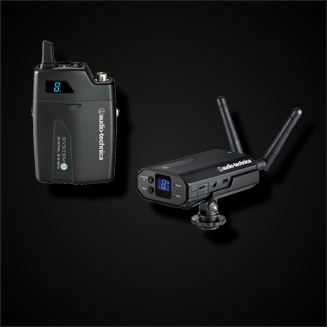 Funkmikrofone für Videokamera