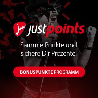 JustPoints Sammle Punkte durch Deine Einkäufe