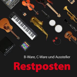 JustMusic RESTPOSTEN - B-Ware, C-Ware und Aussteller
