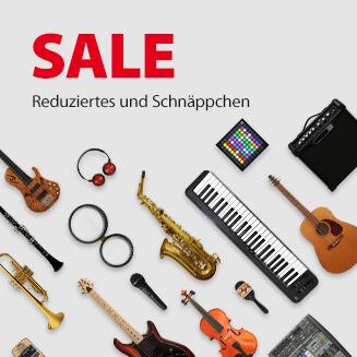 JustMusic SALE - Reduziertes und Schnäppchen