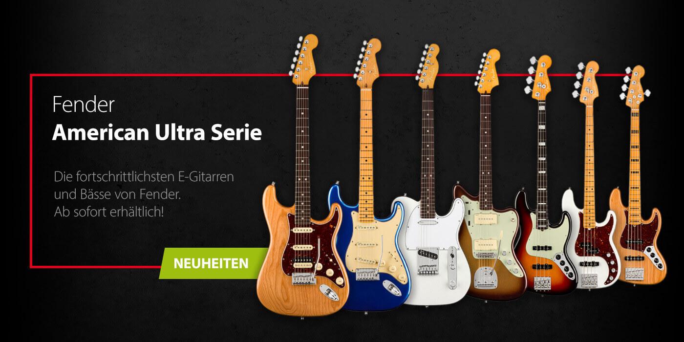 FENDER American Ultra Serie jetzt erhältlich