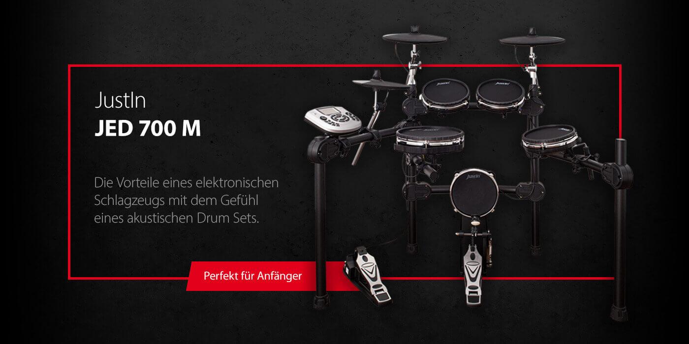 JustIn JED700M - Perfekt für Schlagzeuganfänger