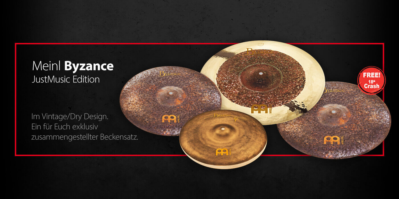 Meinl Byzance JustMusic Edition