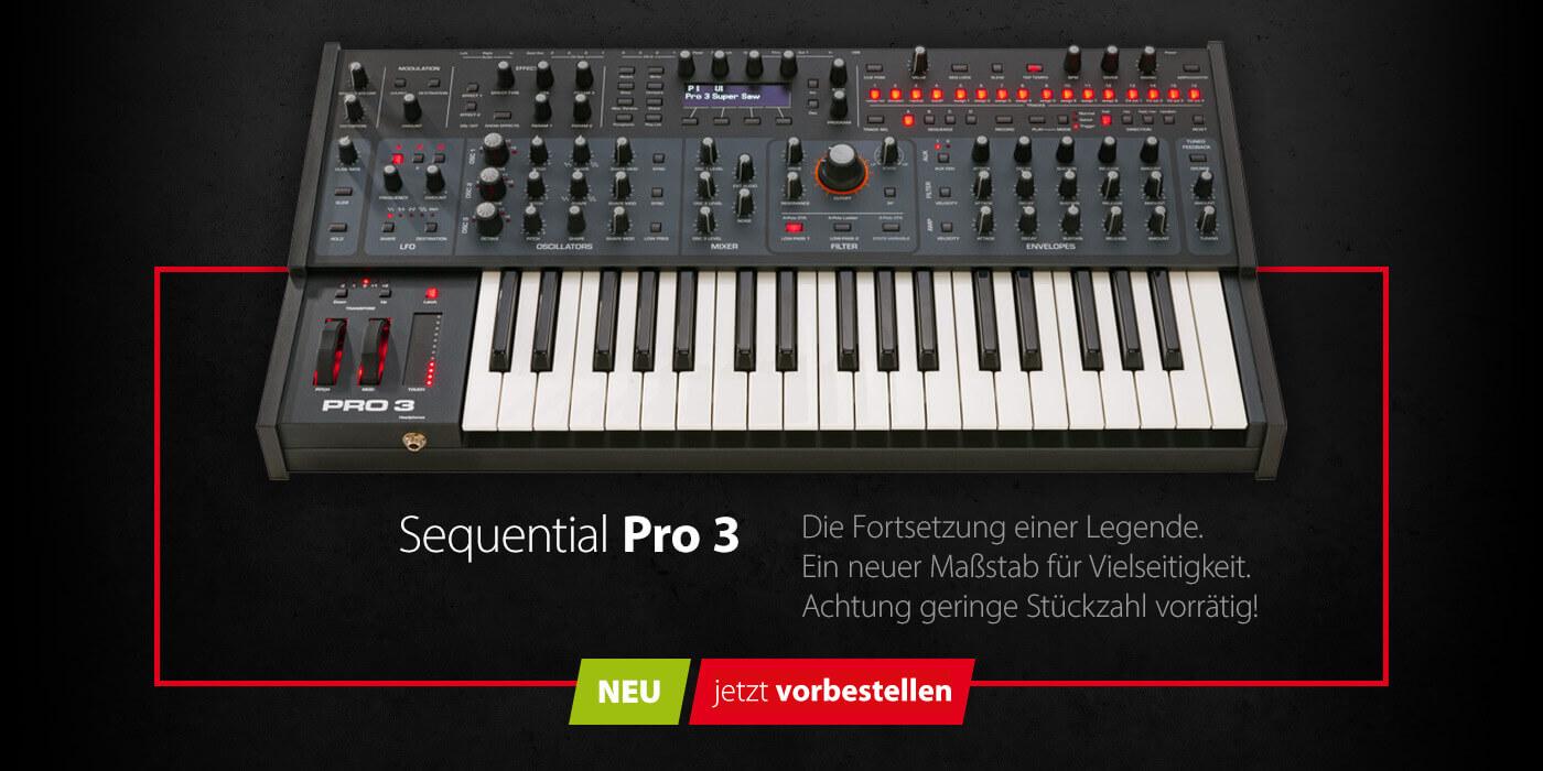 Sequential Pro 3 - Brandneu und sofort verfügbar
