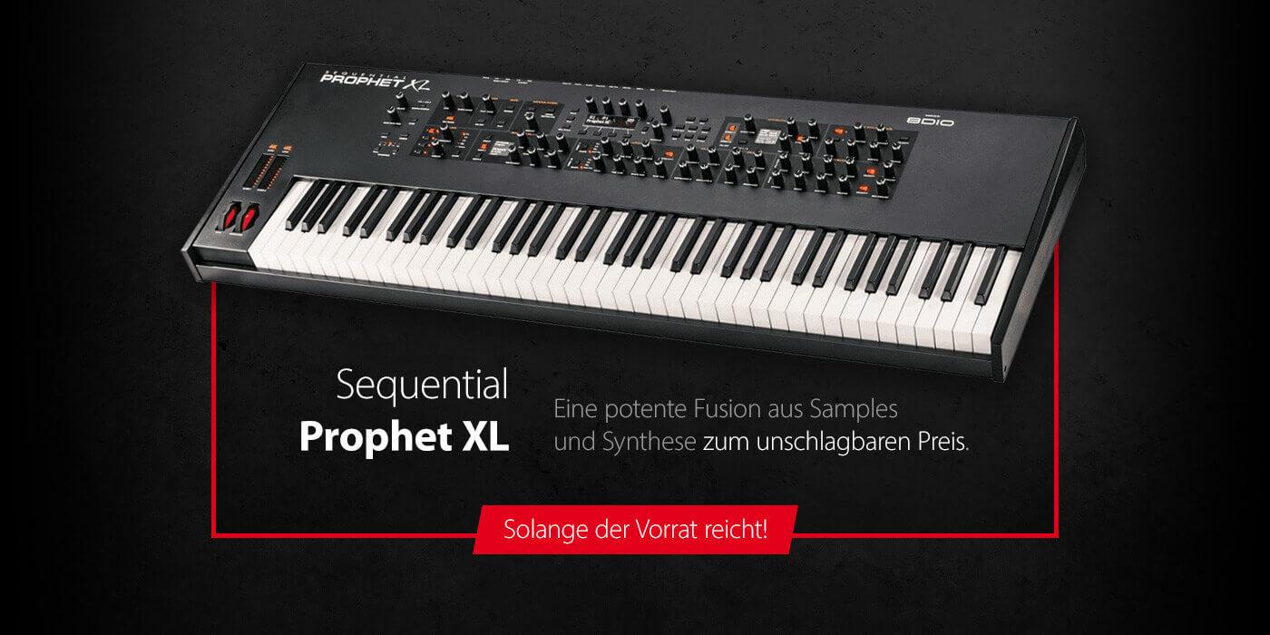 Sequential Prophet XL zum unschlagbaren Preis - Solange der Vorrat reicht!
