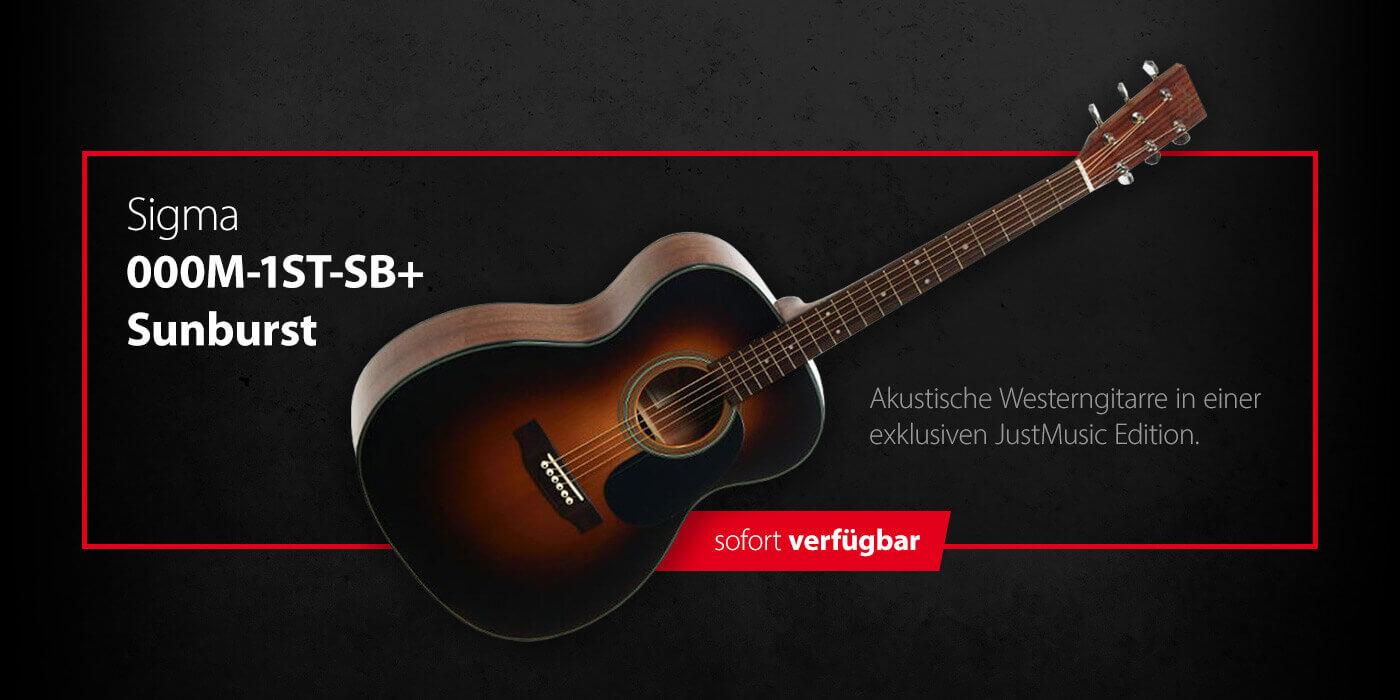 SIGMA 000M-1ST-SB+ Sunburst JustMusic Edition