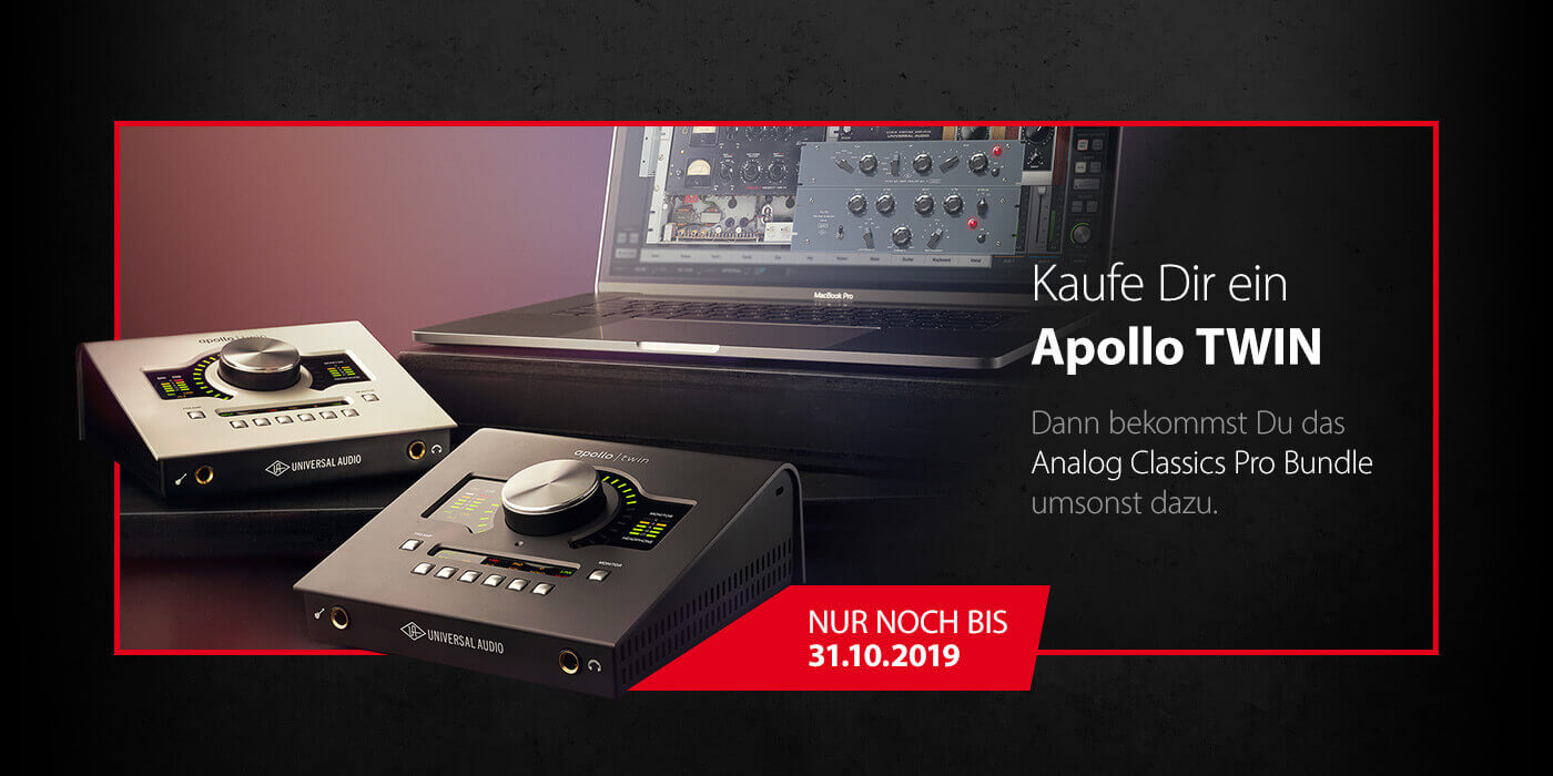 Universal Audio - Apollo TWIN Aktion