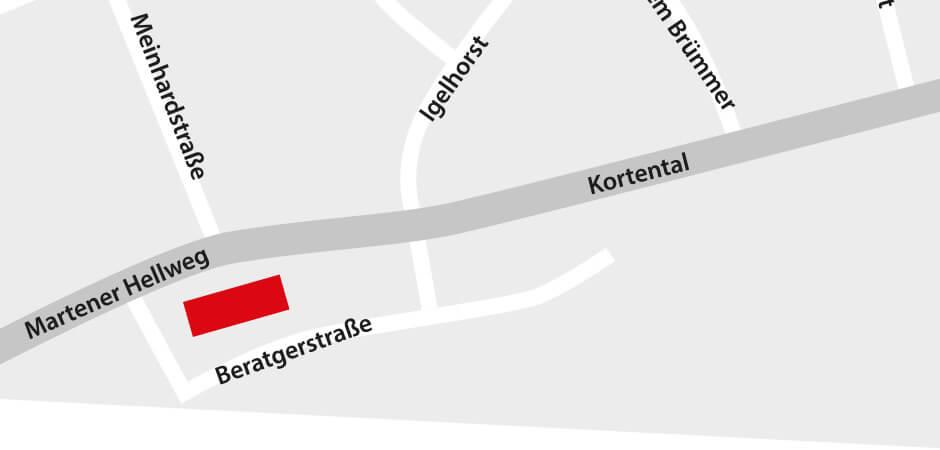 JustMusic Dortmund - Anfahrt
