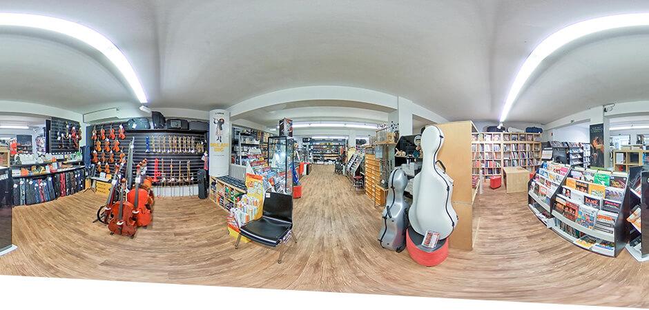 JustMusic Dortmund - Abteilung Books, Brass & Strings