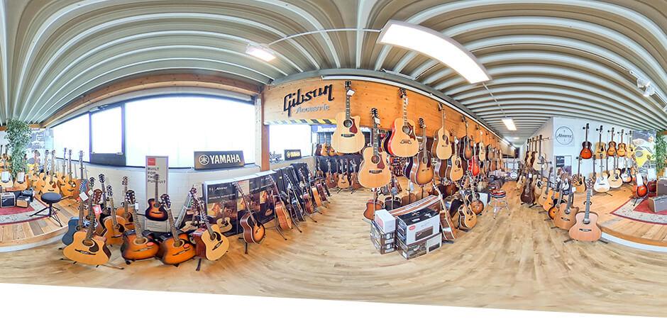 JustMusic Dortmund - Abteilung Gitarre & Bass
